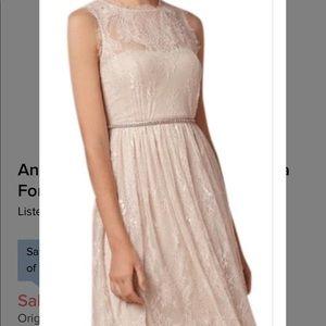 Hithero Cream Lace Dress size 6